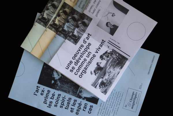 Tracts Andrei Tarkovski pour Tract'arte
