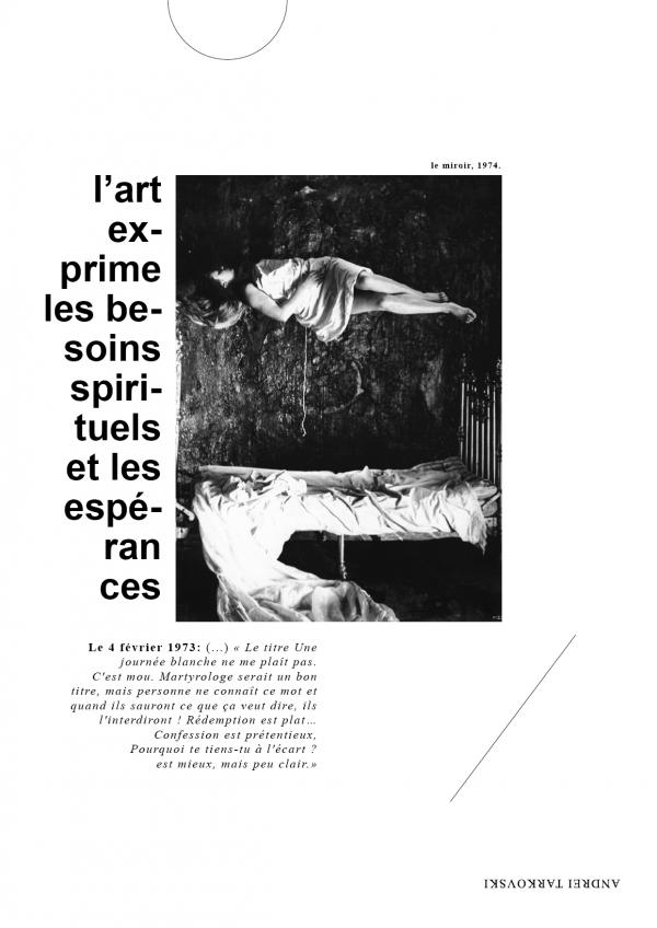 Tract'arte, tract Andrei Tarkovski, verso