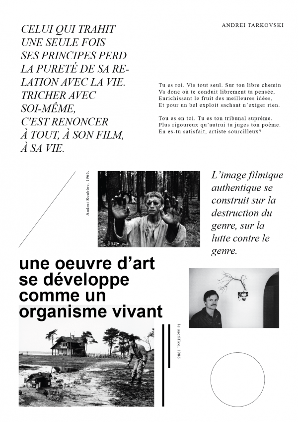 Tract'arte, tract Andrei Tarkovski, recto