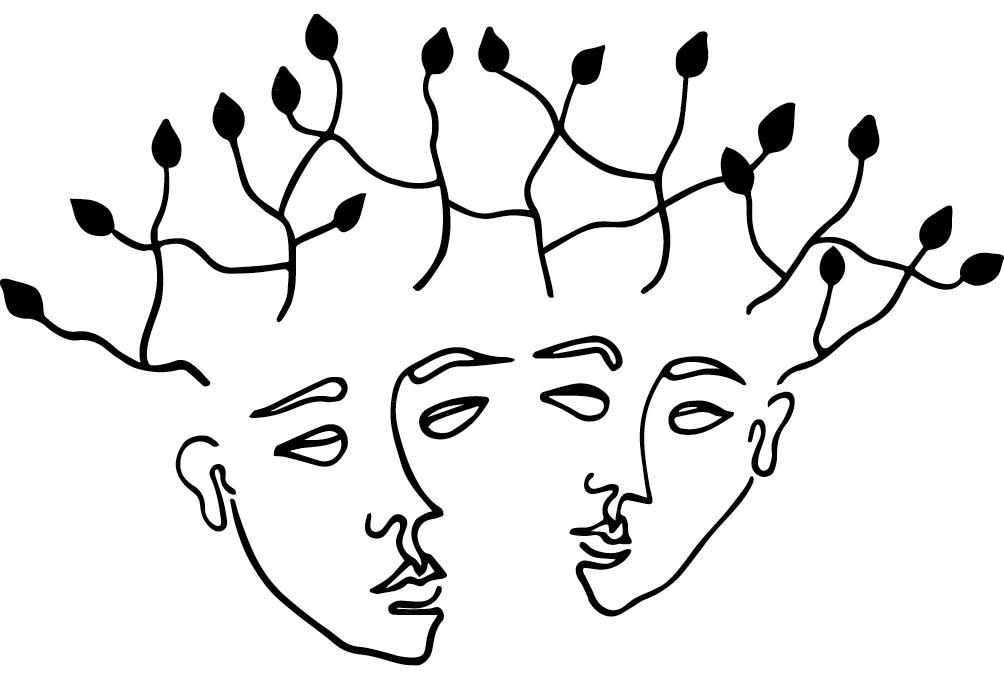 Proposition de logo pour Entre les mots, entreprise en nouvelle aquitaine