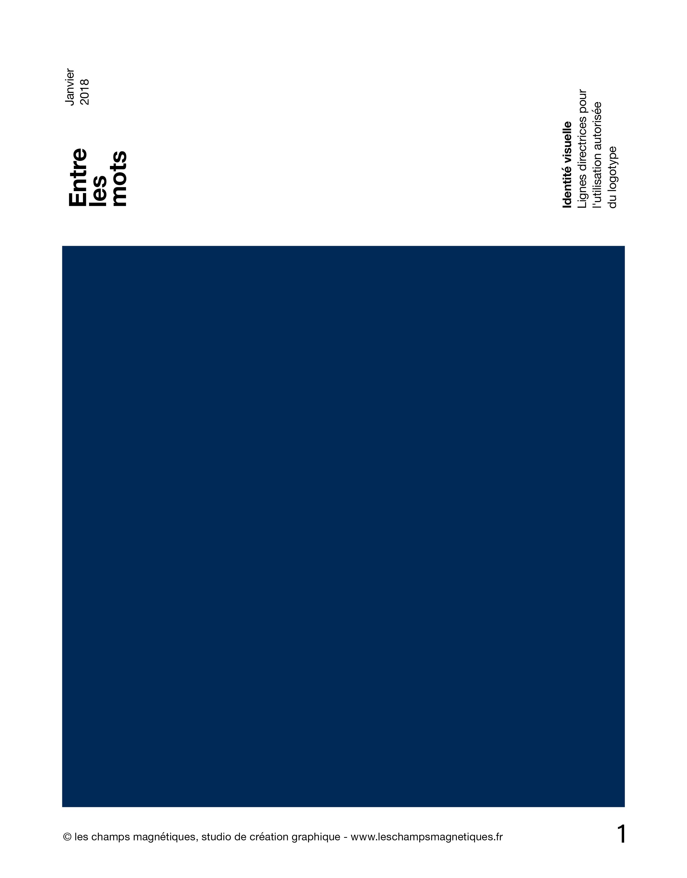 Logo, identité visuelle, création graphique pour Entre les Mots, Nouvelle Aquitaine
