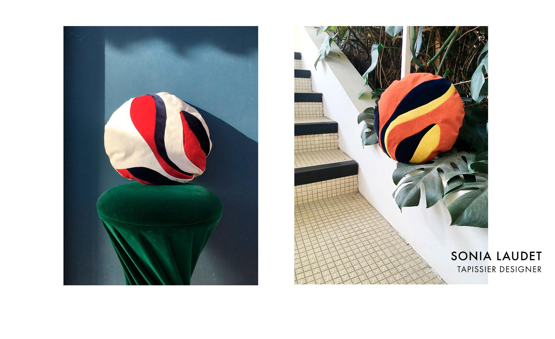 Création site internet pour Sonia Laudet, Tapissier Designer à Bayonne