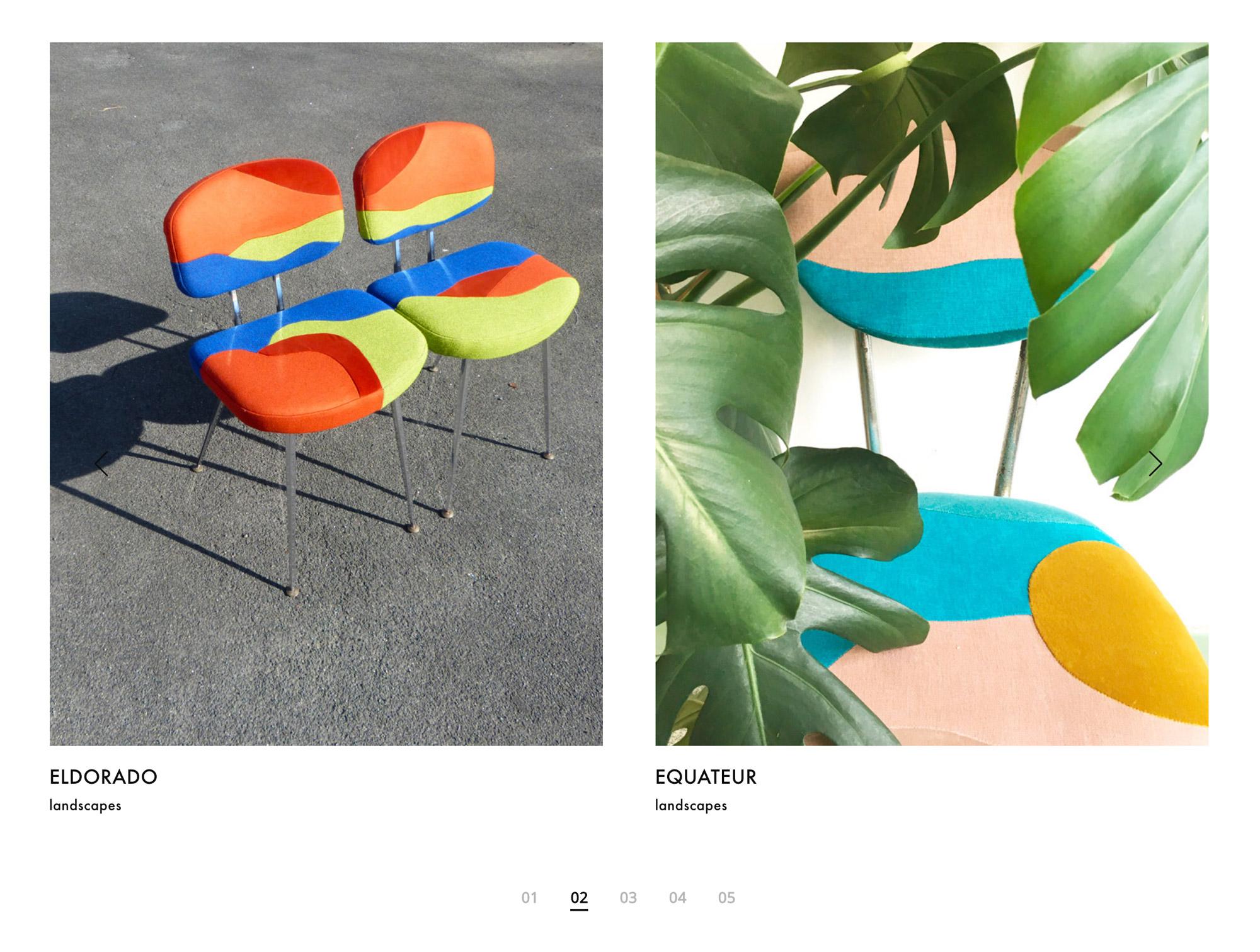 Studio de création graphique, Les champs magnétiques - Création de site internet Sonia Laudet